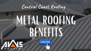 metal roofing on the central coast